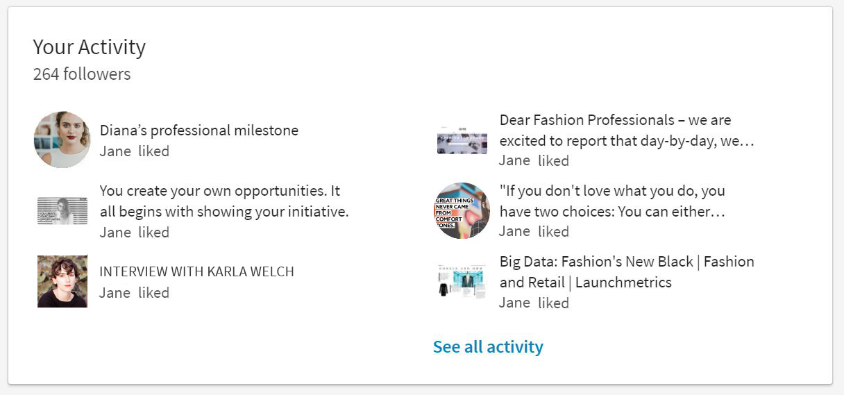 HOW TO CREATE AN EFFECTIVE LINKEDIN PROFILE IN FASHION